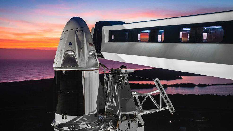 Image result for NASA gives SpaceX green light for capsule test to ISS