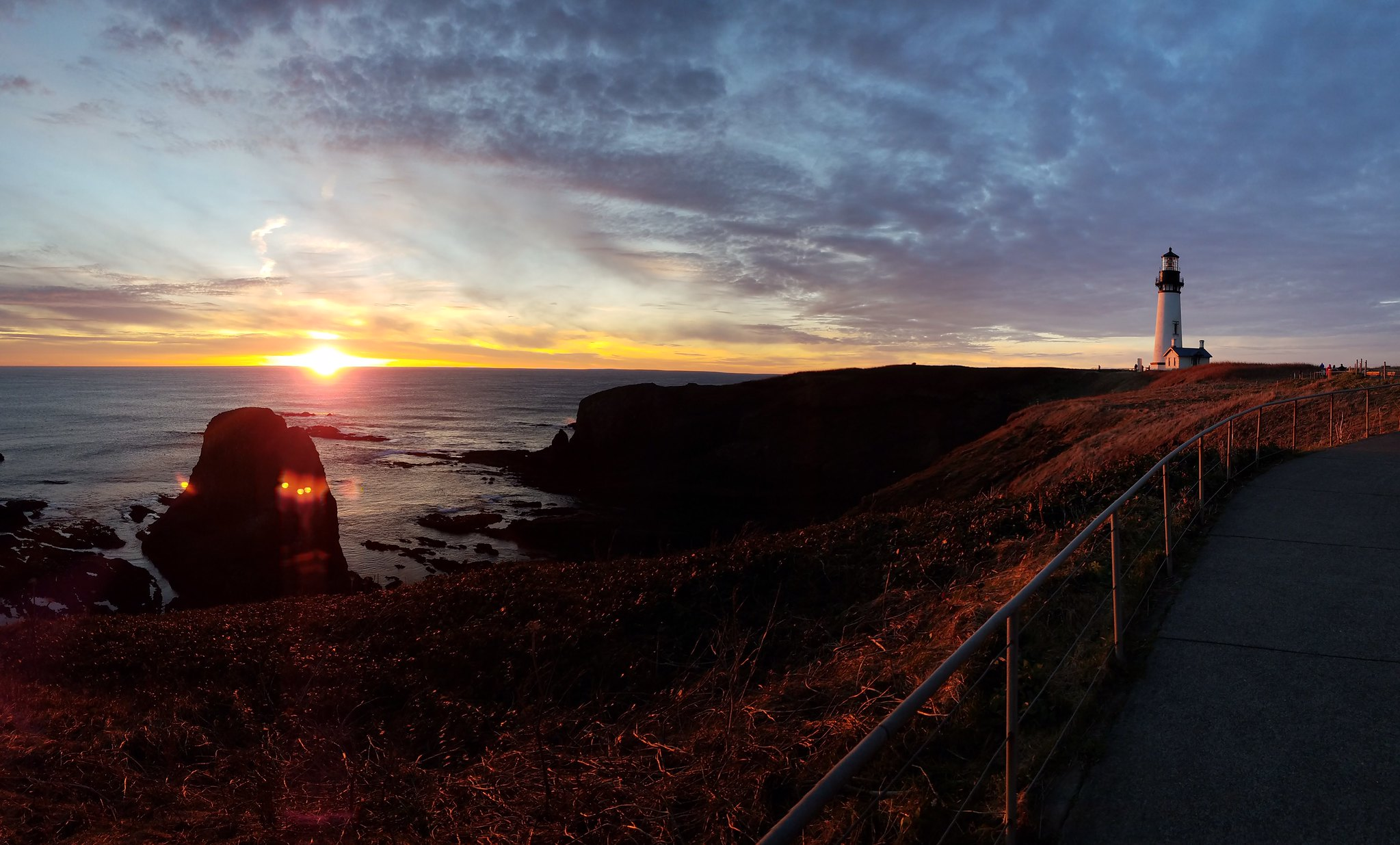 Sunset at Yaquina Head (BLM/CC by 2.0)