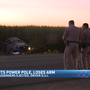 CHP: DUI driver loses arm, passengers ejected in rollover crash near Lemoore