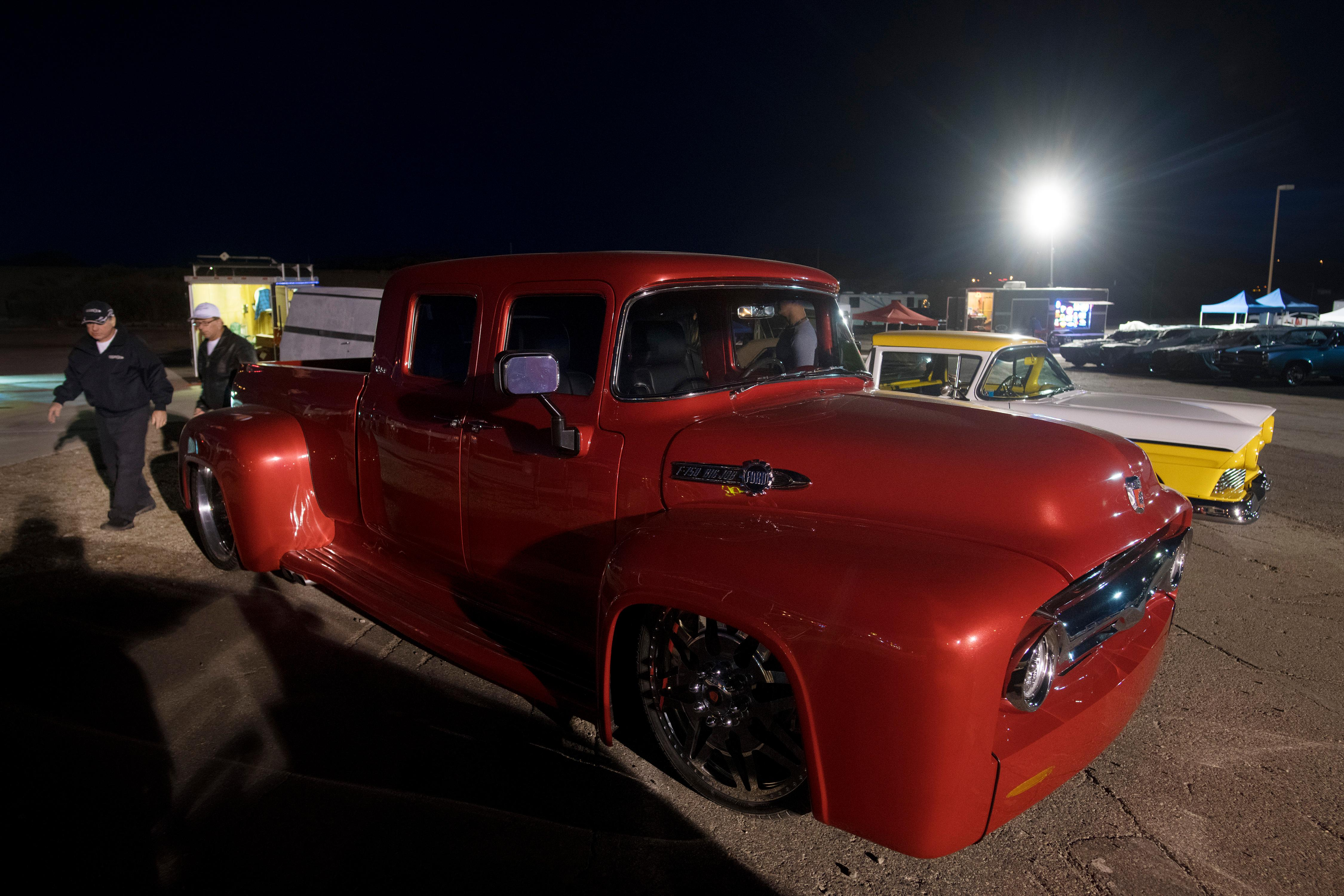 A custom Ford F150 is seen during the Mesquite Motor Mania car show Saturday, January 13, 2018, in Mesquite. CREDIT: Sam Morris/Las Vegas News Bureau