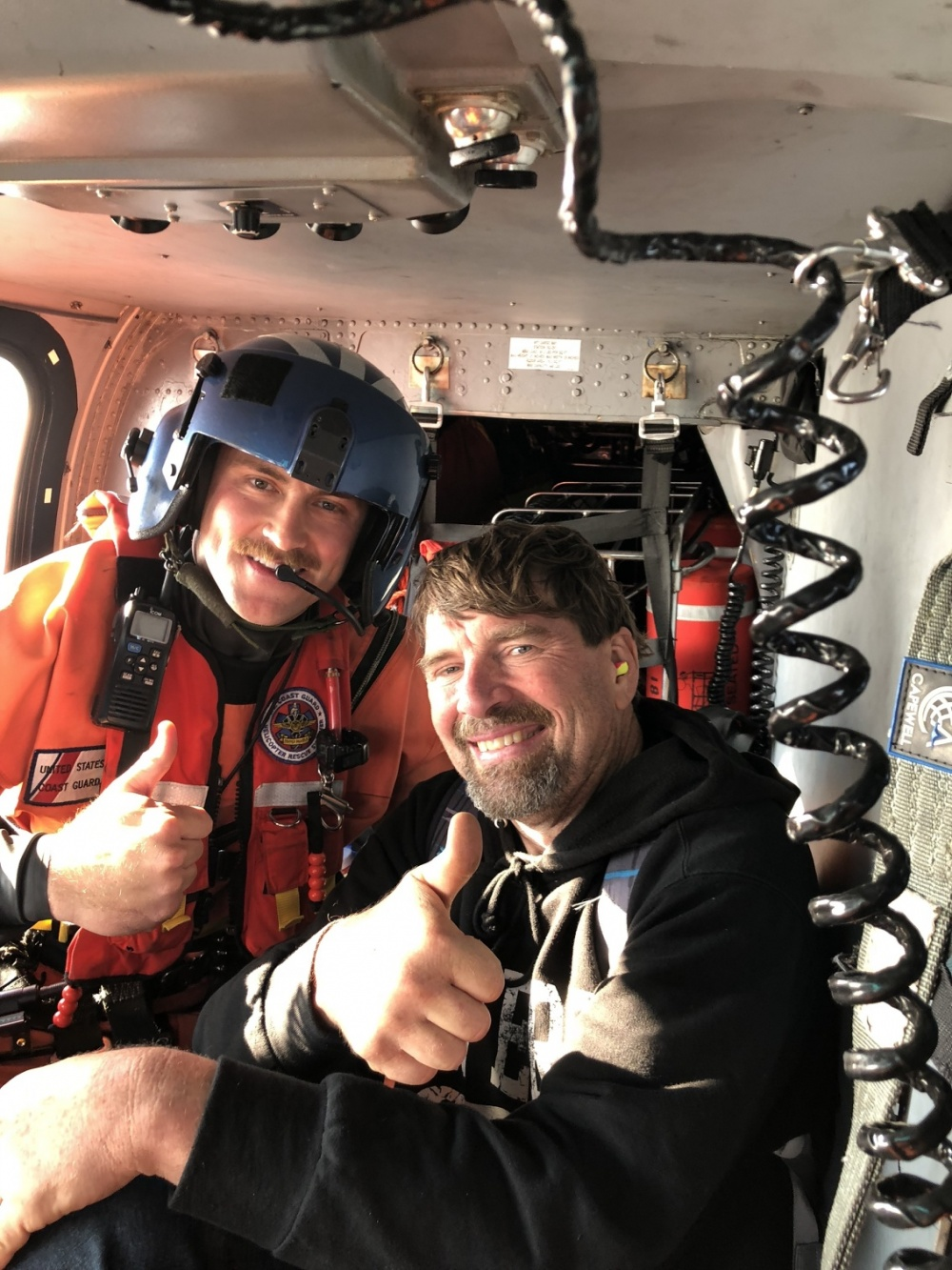 Coast Guard rescues man off cliff near Lincoln City (Courtesy photo)