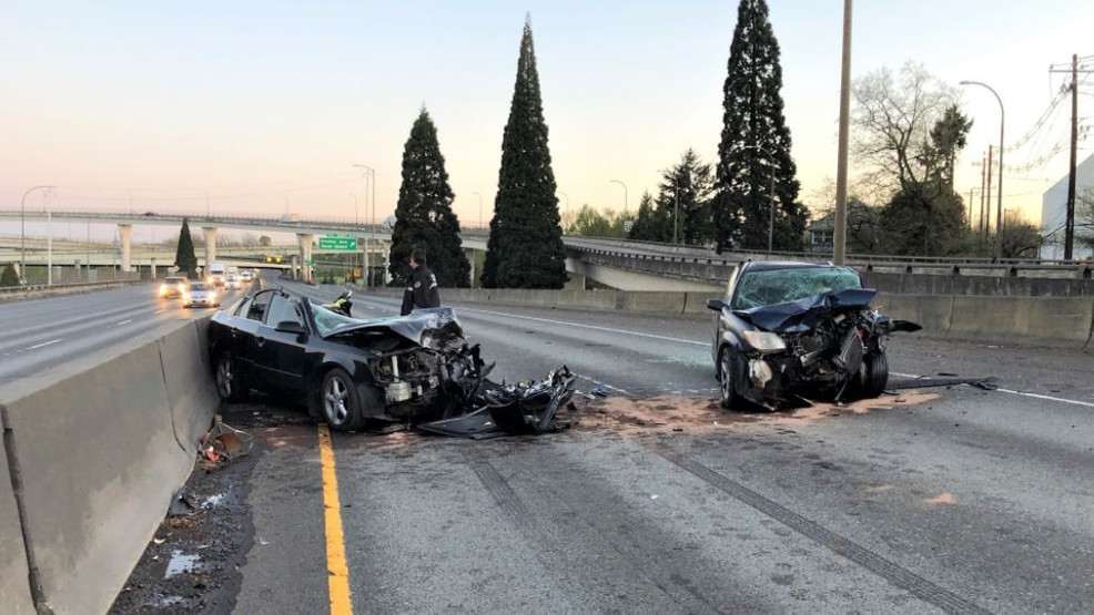 Two drivers killed in wrong-way crash on I-5 in Portland