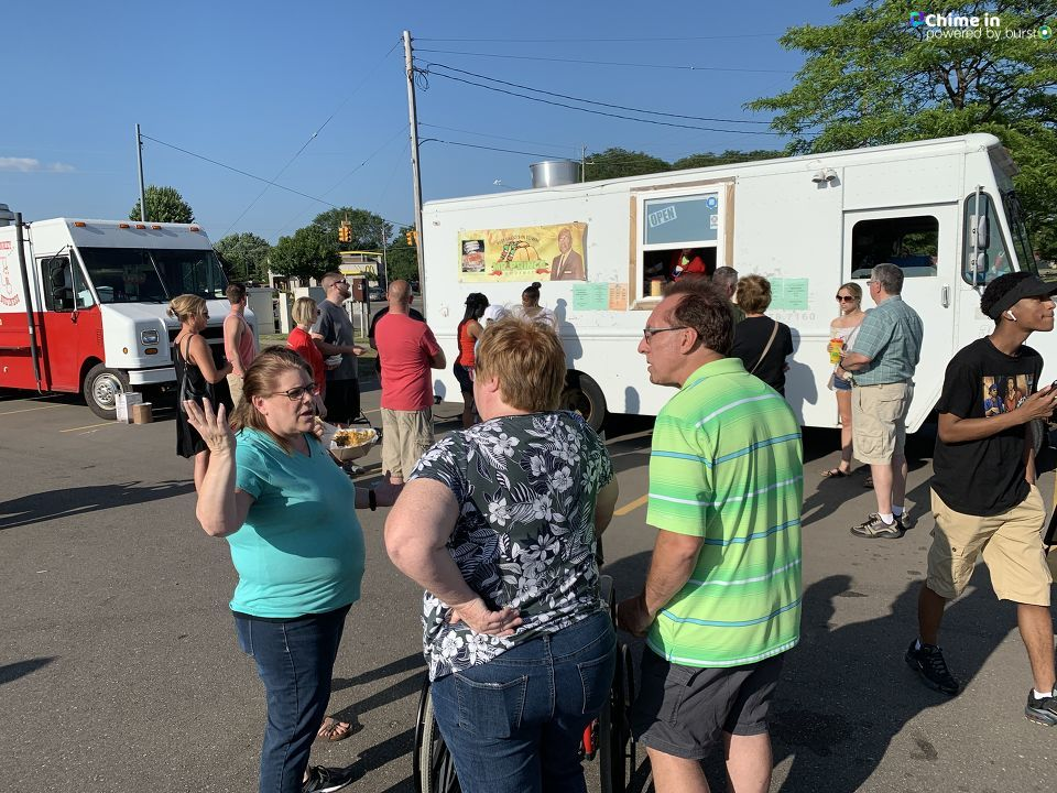 The Grand Blanc Food Truck Festival was held Friday at Grand Blanc High School. (Photo from Jesse Gonzales) WEYI/WSMH)