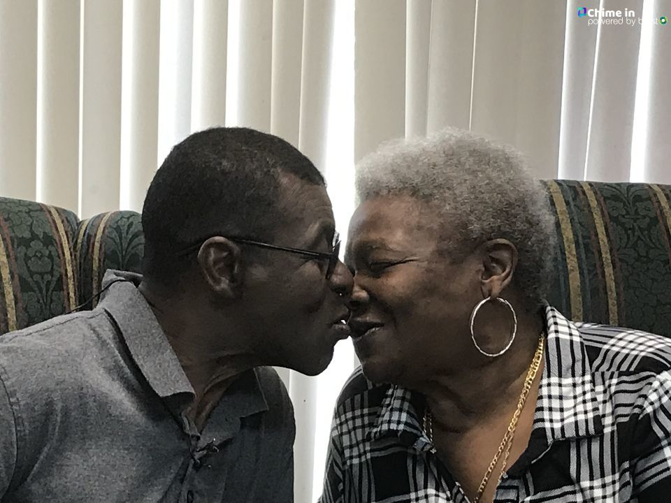 A Georgia woman and her husband were reunited Friday at Macon's PruittHealth Eastside nursing home as they prepared to move into a Macon apartment together/Camille Gayle (WGXA)