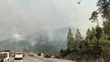 Update: Both directions of I-5 now reopened after Delta Fire flare up