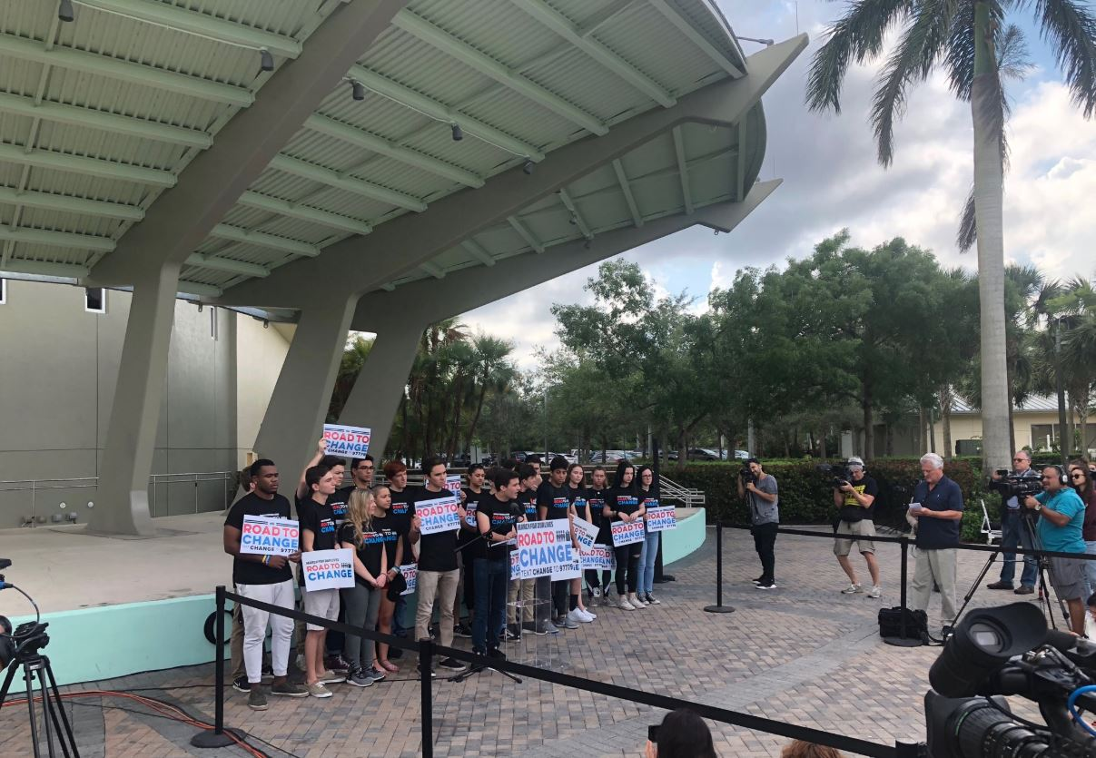 Parkland students to embark on Road to Change tour (WPEC)