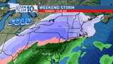 Light snow Friday morning, bigger storm this weekend