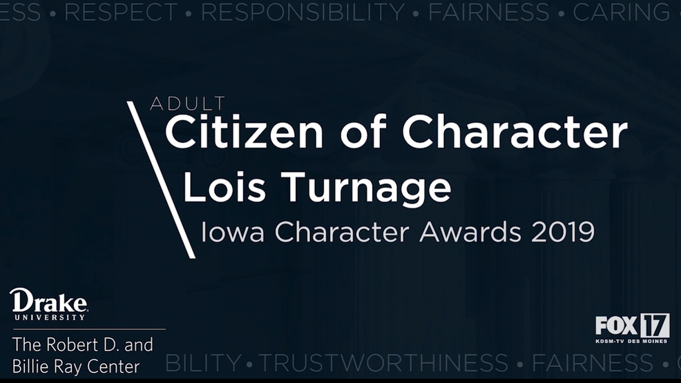 Iowa Character Awards 2019: Adult Citizen of Character - Lois Turnage