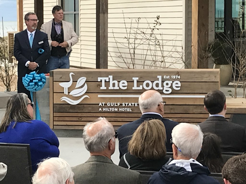 (image: WPMI) Grand opening for multi-million dollar Lodge at Gulf State Park in Gulf Shores