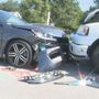 Staged drunk driving crash scene spreads awareness to students