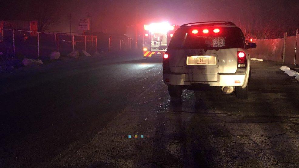 Resultado de imagen para Dozens of cars catch fire at North Providence auto scrapyard