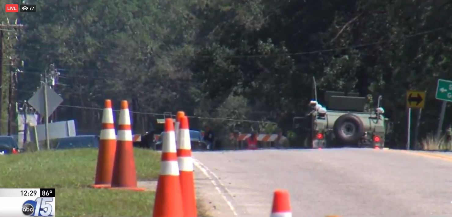 Coroner identifies two patients killed after transport van drives through flood waters (WPDE)