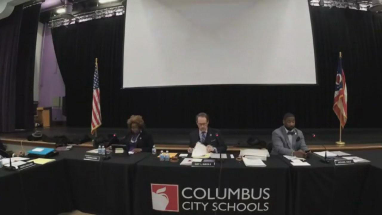 Outgoing members of the Columbus City School Board are about to vote on a taxpayers' funded trip for themselves to Miami. (Courtesy: Columbus City Schools)