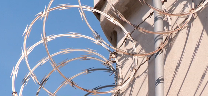 The Utah State Prison and the Central Utah Correctional Facility is under a 24-hour lockdown after a possible transmission of COVID-19 occurred within the general population. (Photo: KUTV)