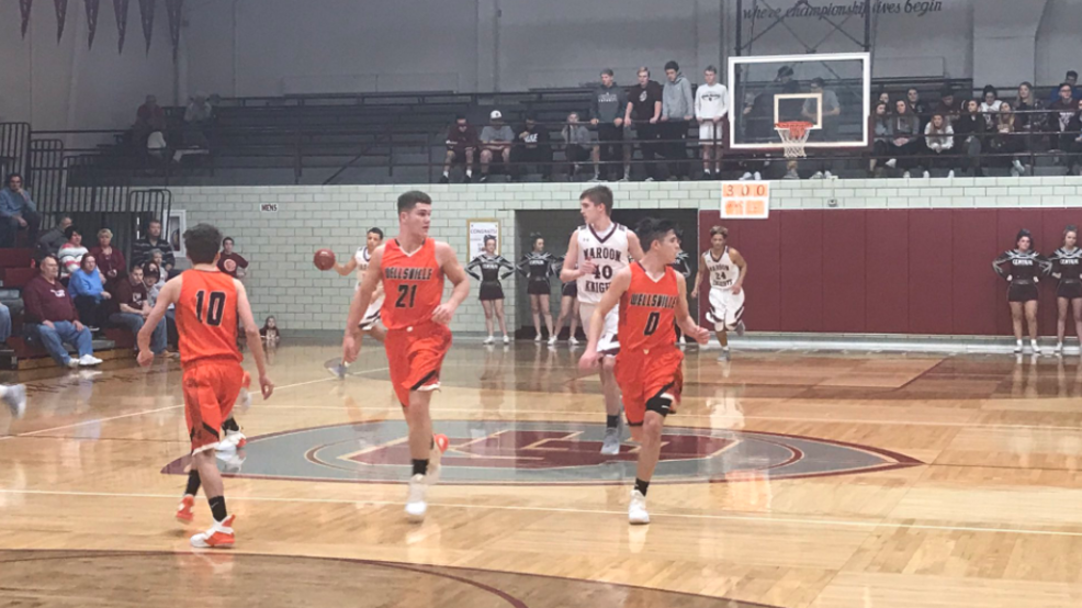 2.12.19. Highlights: Wellsville vs. Wheeling Central, 2A Semi-Final, boys basketball