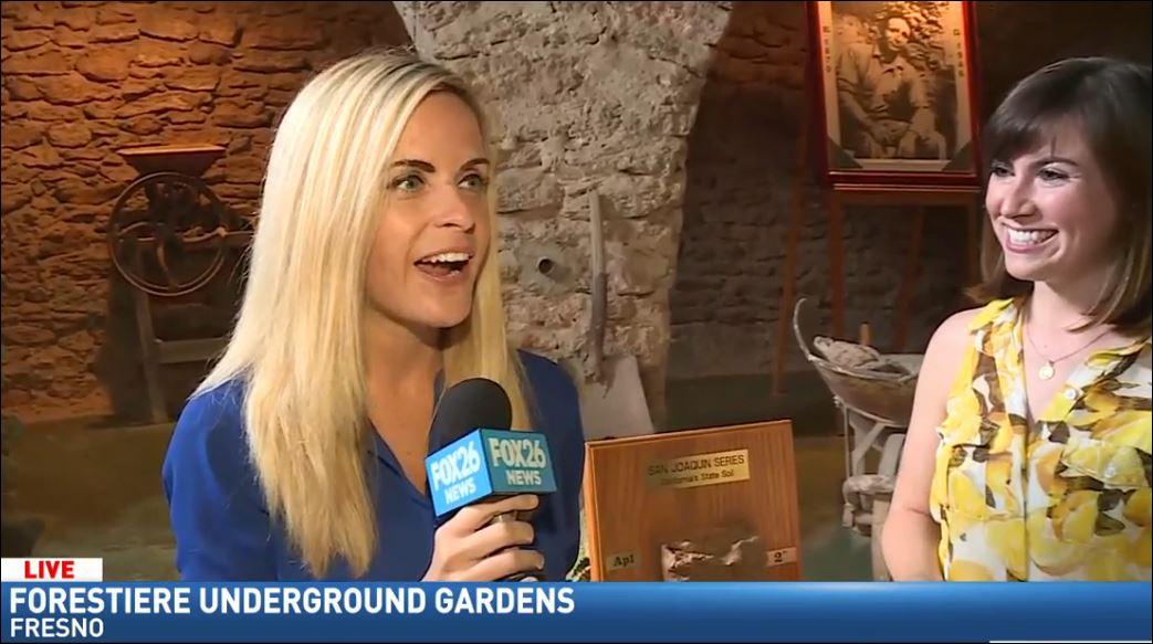 Wendi learns the history of the Underground Gardens