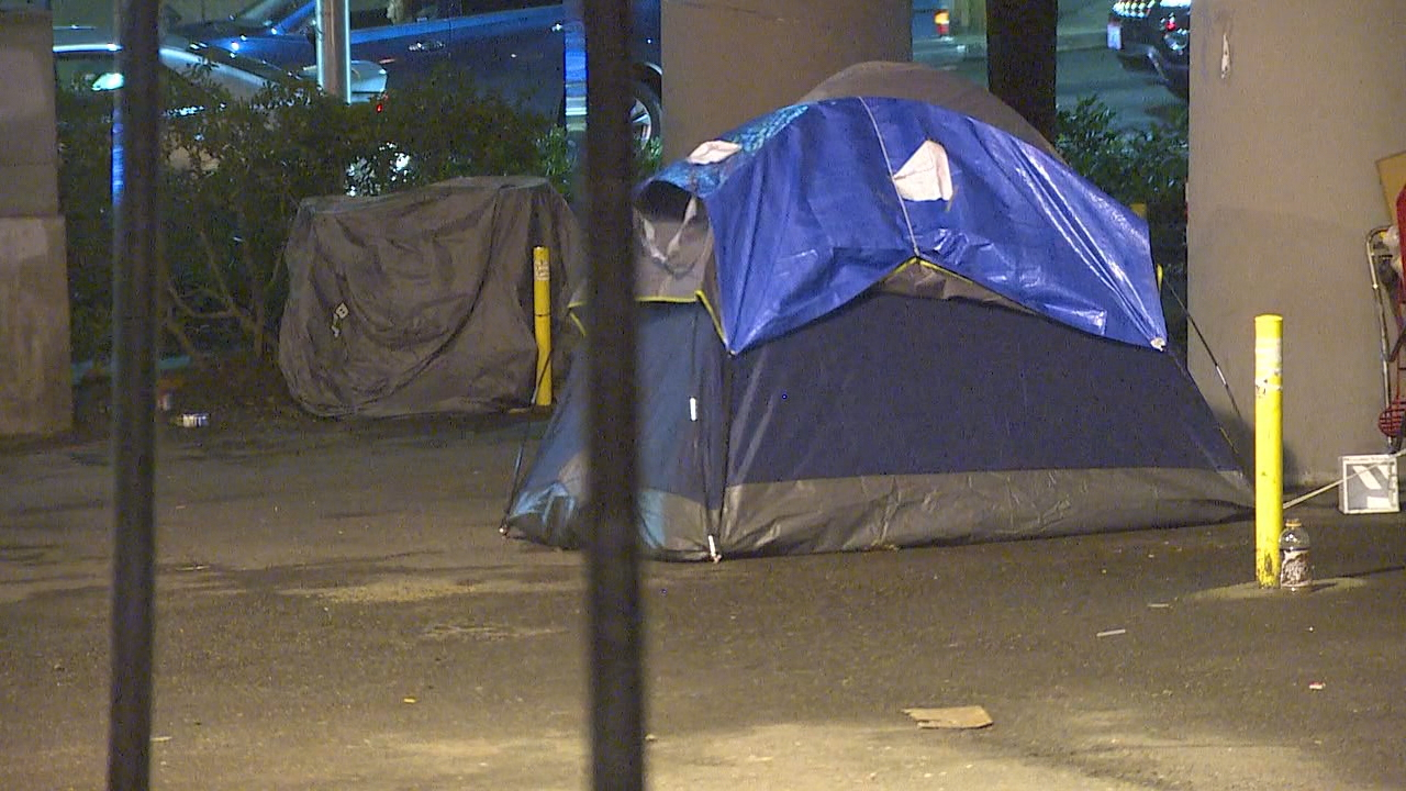 A new lawsuit is trying to halt the city's efforts to conduct sweeps at homeless encampments. It argues that current practices violate people's basic rights. (Photo: KOMO News file)