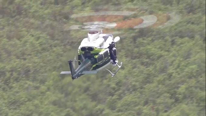 Four people killed after two planes collide in mid-air over the Florida Everglades in Miami-Dade County. (CBS Newspath)
