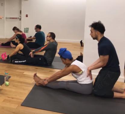 Flex And Stretch With A Friend Wjla