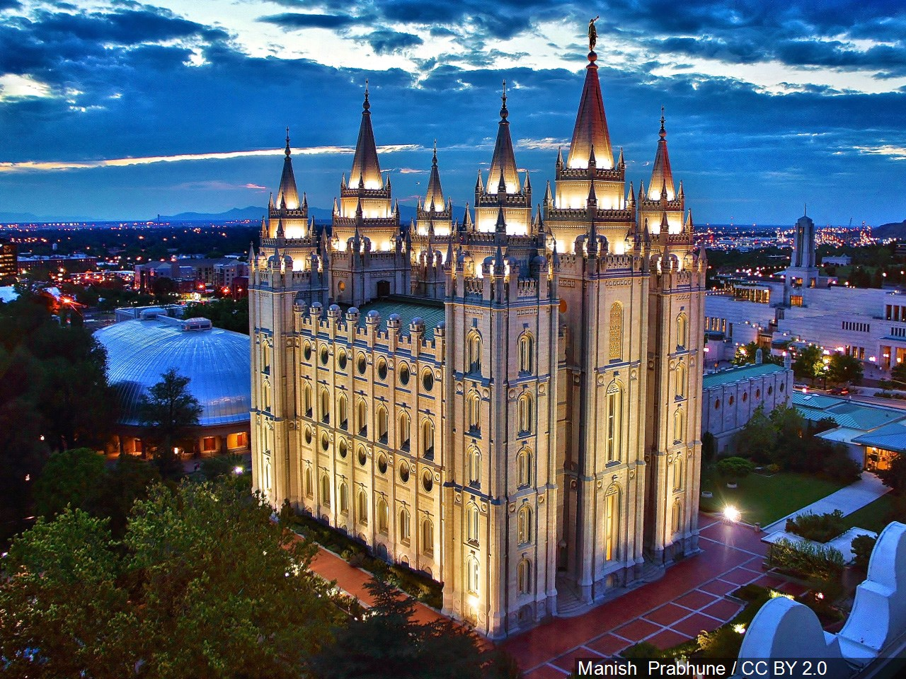 Salt Lake LDS Temple. (Photo: Manish Prabune, MGN)