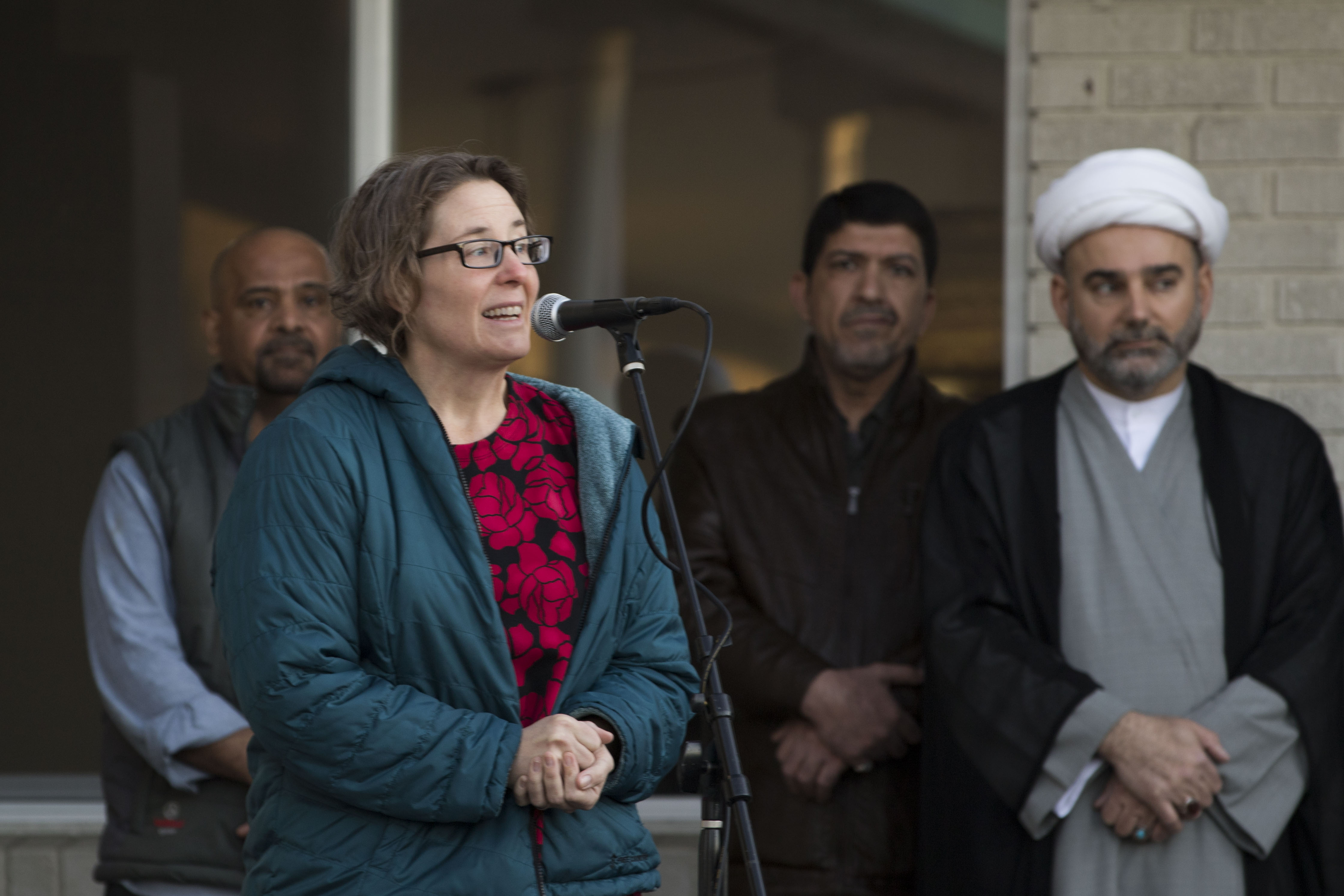 "A vigil honoring the victims and survivors of the Christchurch, New Zealand attacks was held in Boise Friday night at the{ }Imam Hussain Islamic Center.{ }Mass shootings at two mosques full of worshippers attending Friday prayers killed 49 people on what the prime minister called ""one of New Zealand's darkest days,"" as authorities detained four people and defused explosive devices in what appeared to be a carefully planned attack. (Kristen McPeek Photo)"