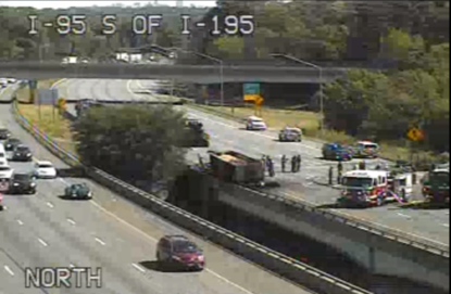 Person in serious condition after morning crash on I-95 | WBFF