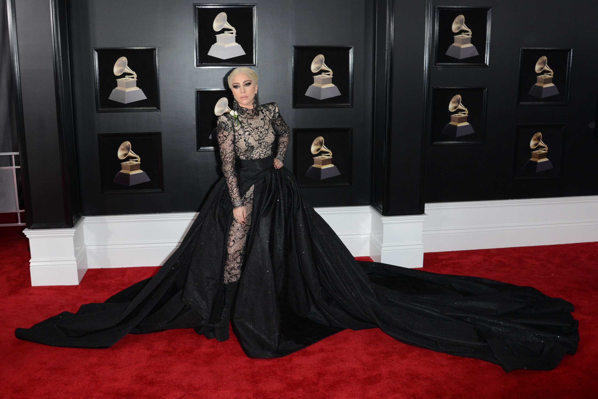 60th Annual GRAMMY Awards held at Madison Square GardenFeaturing: Lady GagaWhere: New York, New York, United StatesWhen: 28 Jan 2018Credit: Ivan Nikolov/WENN.com