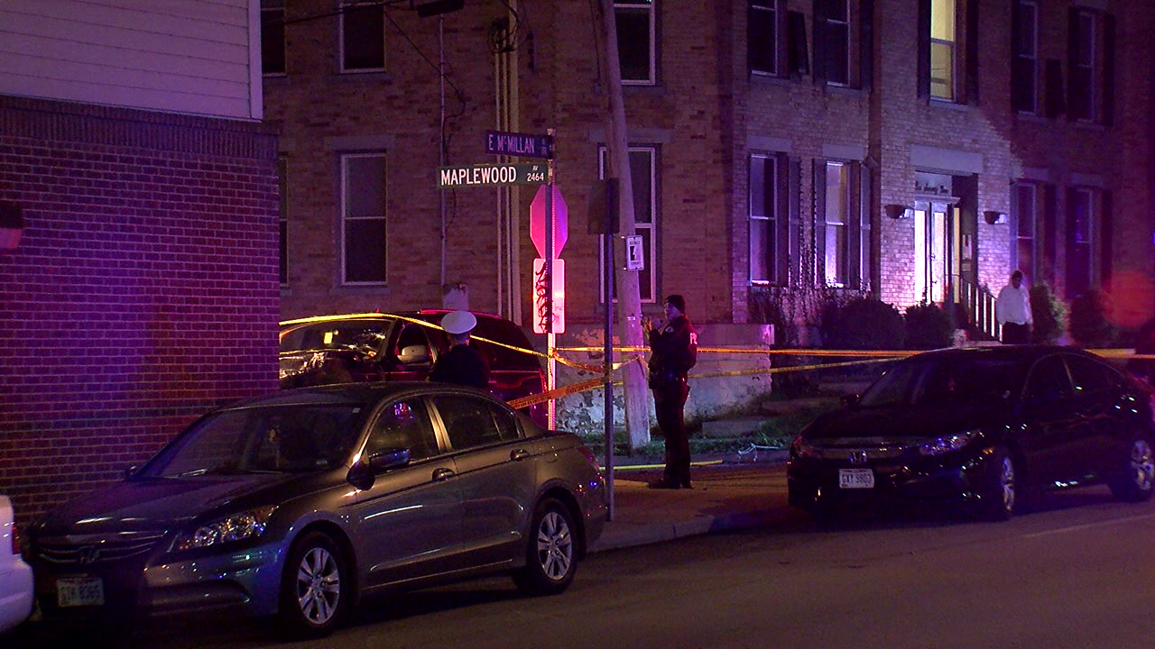 Driver, who was shot, traveled 2 blocks before slamming into apartment building near UC (WKRC)