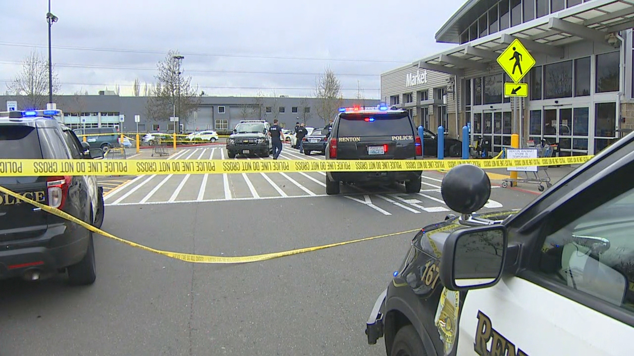 Police: Victim sustains gunshot wound to chest at Renton Walmart