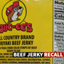 Beef jerky from Buc-ee's recalled due to possible contamination