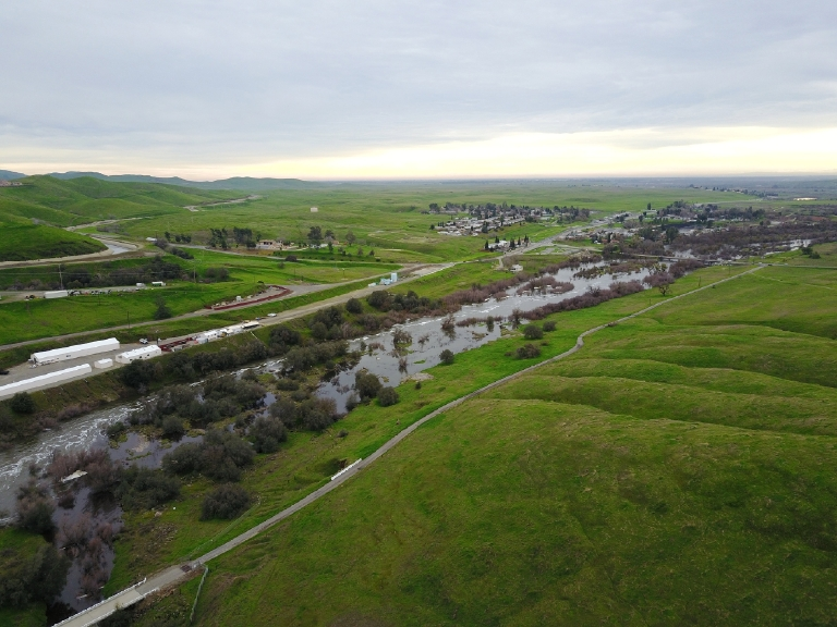 San Joaquin River by Billy Richards III 2-10-17