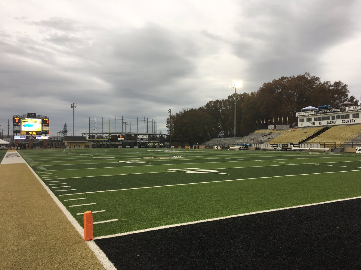 Peach County travels to Calhoun tonight seeking revenge on  the Yellow Jackets in a 3A state semifinal at 7:30 p.m./Cam Gaskins (WGXA)