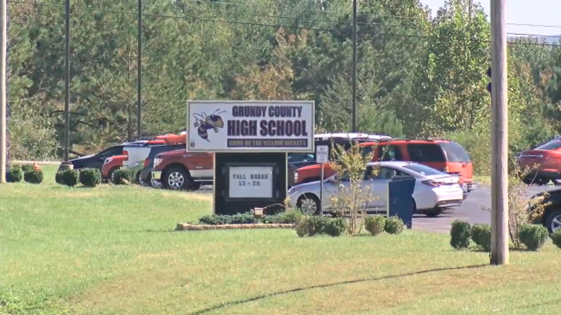 The sheriff says that the five students charged are between 14 and 17 years old - four of them are juniors, and one is a senior. (Image: WTVC)