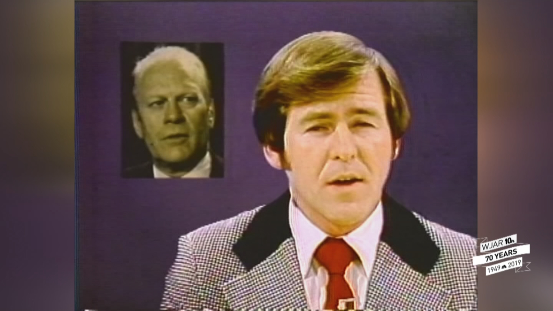 Dave Layman anchored for about two years beginning in 1974. (WJAR)