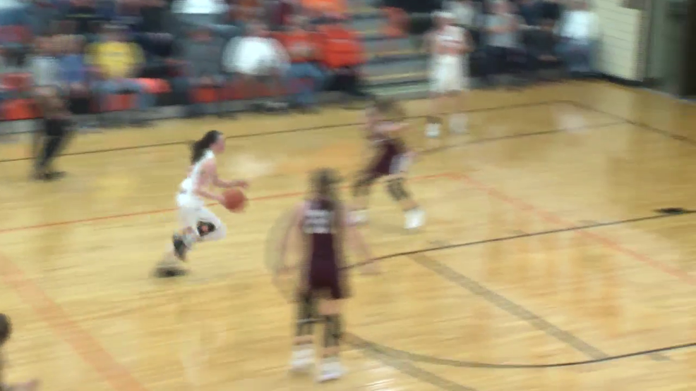 12.5.18 Highlights - Wheeling Central vs Shadyside - girls basketball