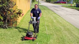 Firefighters cut grass for 80-year-old Army veteran who suffered heat exhaustion