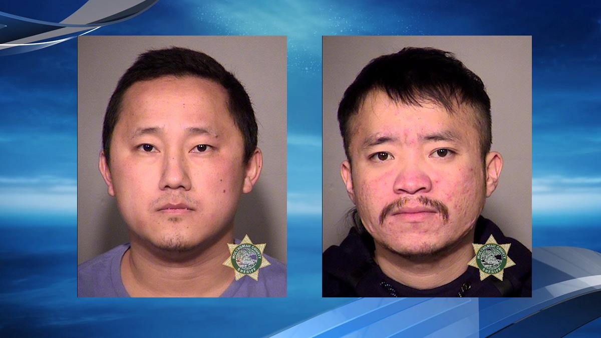 Booking photos for Fong Lee and Ying Moua from the Multnomah County Jail.jpg