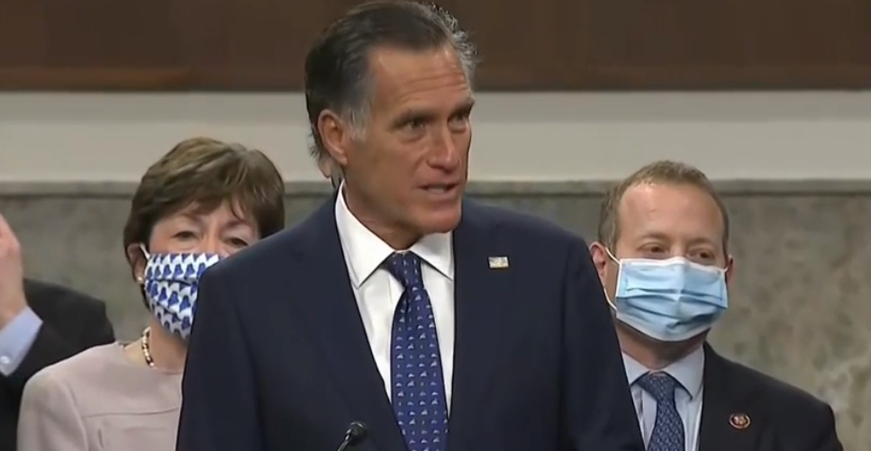 <p>There are rumblings among Utah Republicans to sanction Sen. Mitt Romney over his vote to convict former President Donald Trump. (Photo: KUTV){&nbsp;}</p>