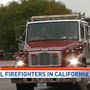 Local firefighters arrive in California to battle wildfires