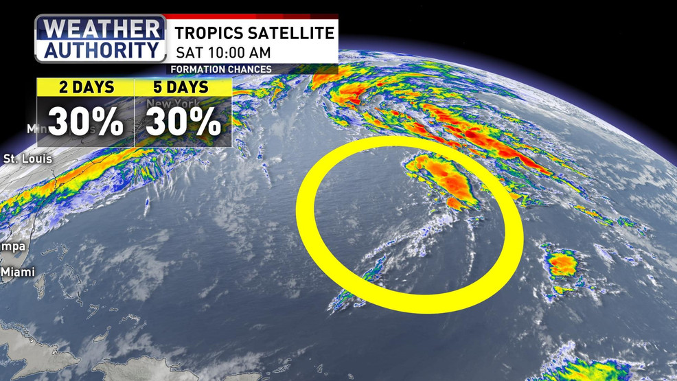 Record-Setting Season Ends Monday, But Still Two Potential Areas Of Tropical Development