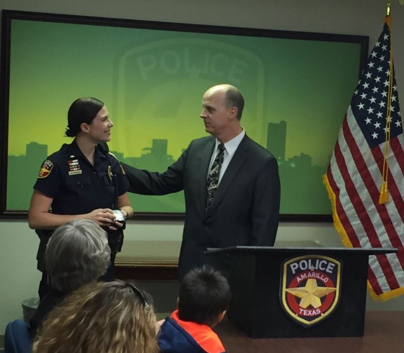 Elizabeth Brown was promoted to the rank of Captain in January of 2016. Brown is the first female officer in Amarillo to reach the rank of Captain. (Photo: Amarillo Police Department)