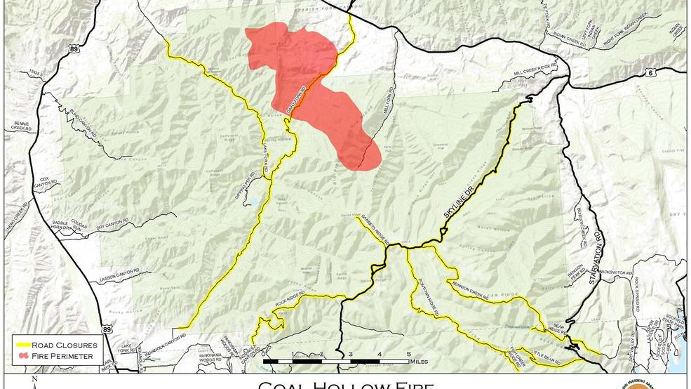 Evacuations in place for Hilltop Fire, pre evacuation notice for