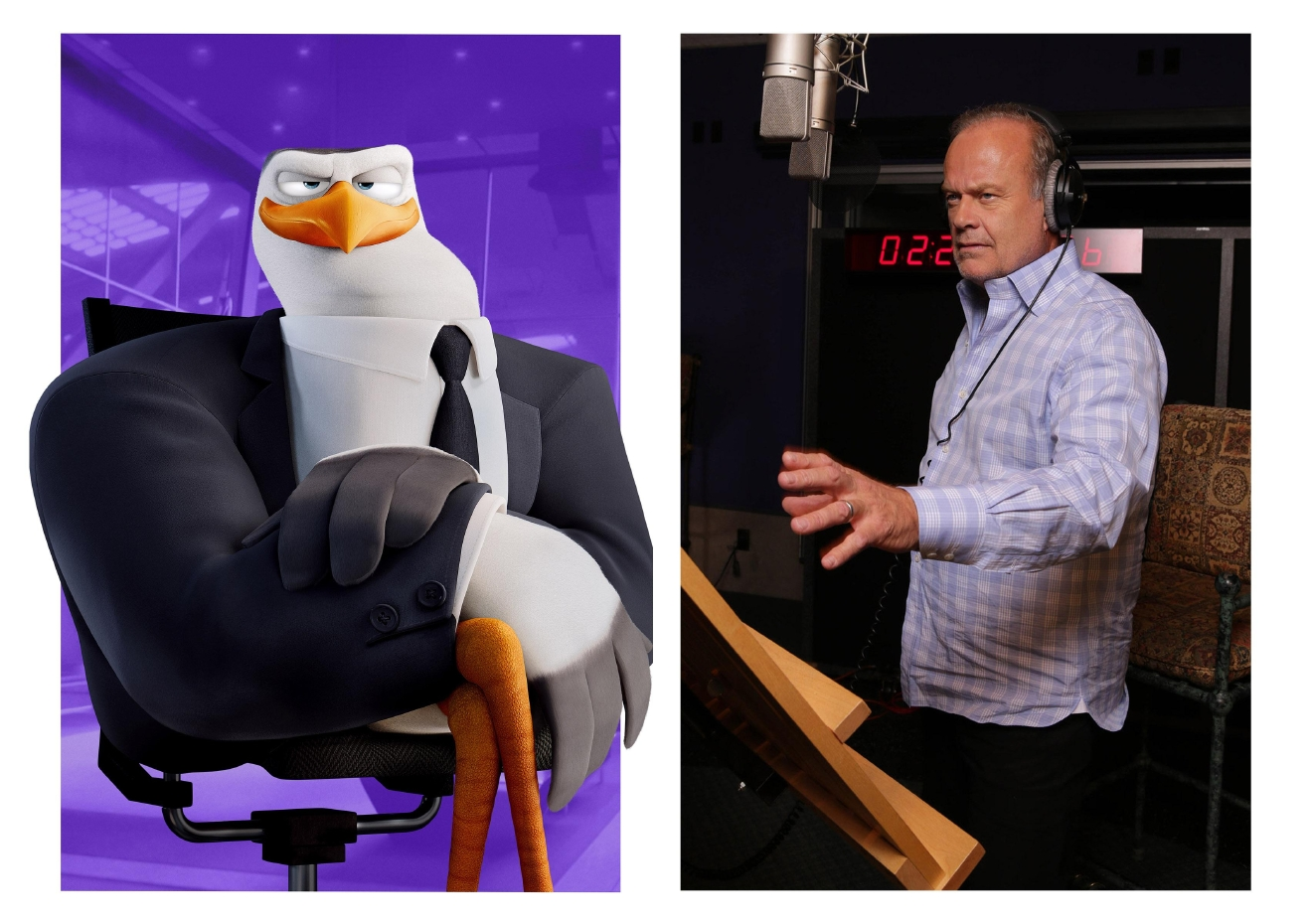 "Kelsey Grammer is the voice of Hunter in ""Storks."" Photo Credit: Eric Charbonneau"