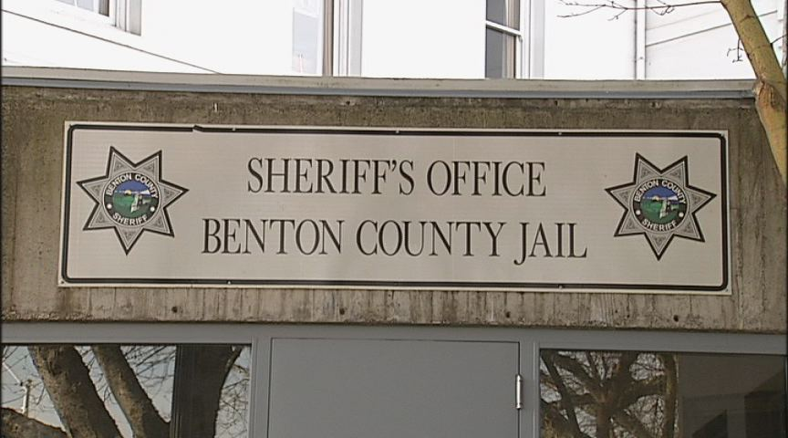 The Benton County Jail has become a revolving door, with only 40 jail beds in a county of 90,000 people. It's the smallest jail per capita in Oregon. (SBG)