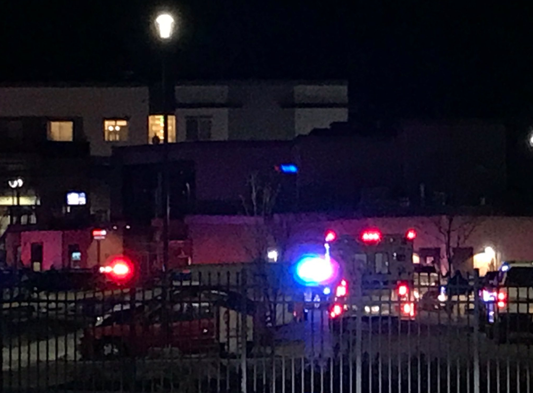 Authorities in Orem confirmed police were investigating a shooting at an apartment complex on Thursday night. (Photo: Jeremy Harris / KUTV)