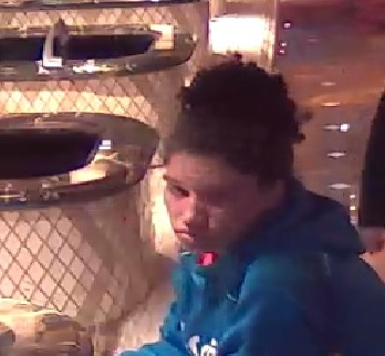 Sparks police seek female suspect in identity theft case. (Courtesy: Sparks Police Department)<p></p>