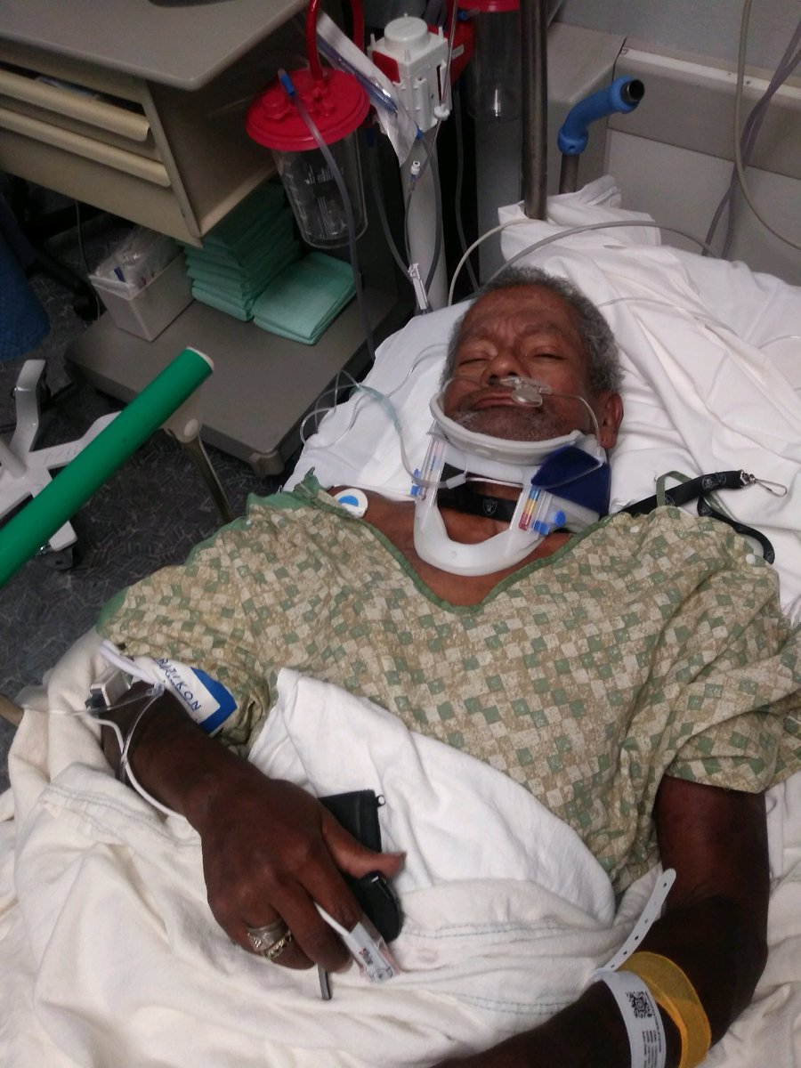 A disabled Vietnam veteran is recovering after being hit on the sidewalk by an out-of-control ice cream truck.{ }