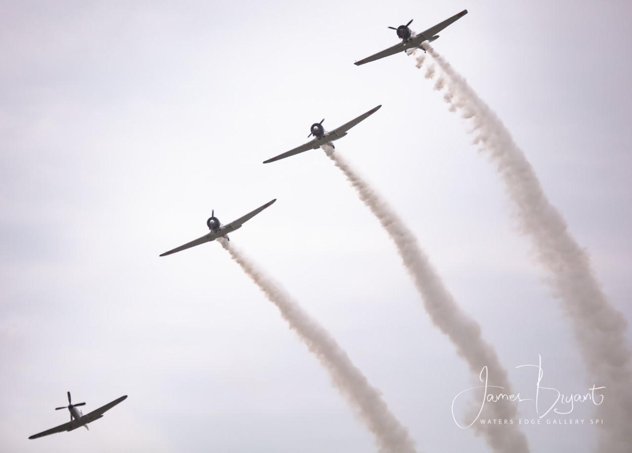 Cameron County Airport hosted weekend Air Show 2019. (Source James Bryant)