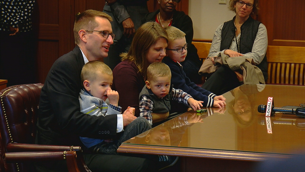 On Friday, more than a dozen local children now have forever homes. (WKRC)