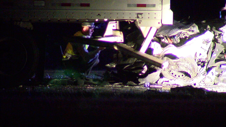 A person was flown to a hospital by medical helicopter after a crash in Butler County. (WKRC)